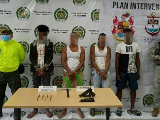 Capturados cuatro presuntos integrantes del ELN