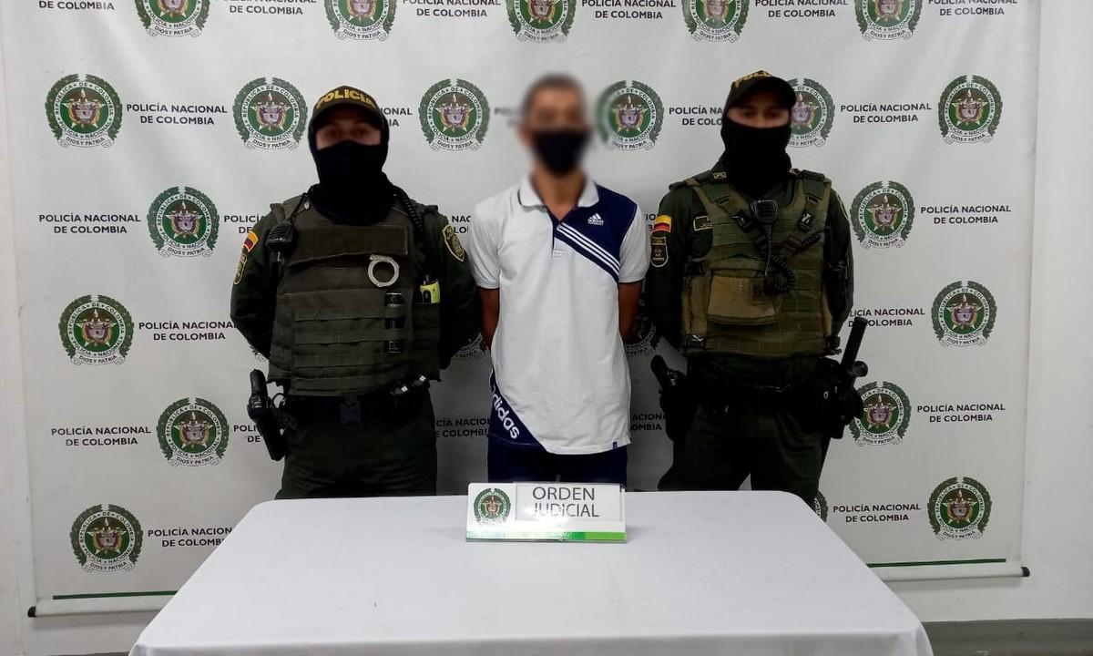 Cogieron a otro presunto violador de menor en Itagüí
