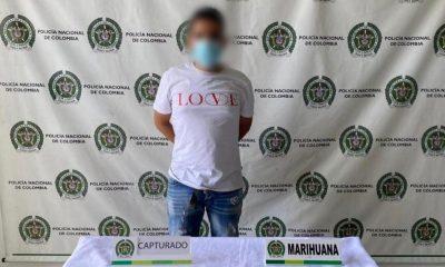 Capturado en Itagüí por venta de estupefacientes