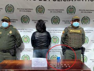 Le iba a llevar droga dentro de un desodorante a un preso en Marinilla
