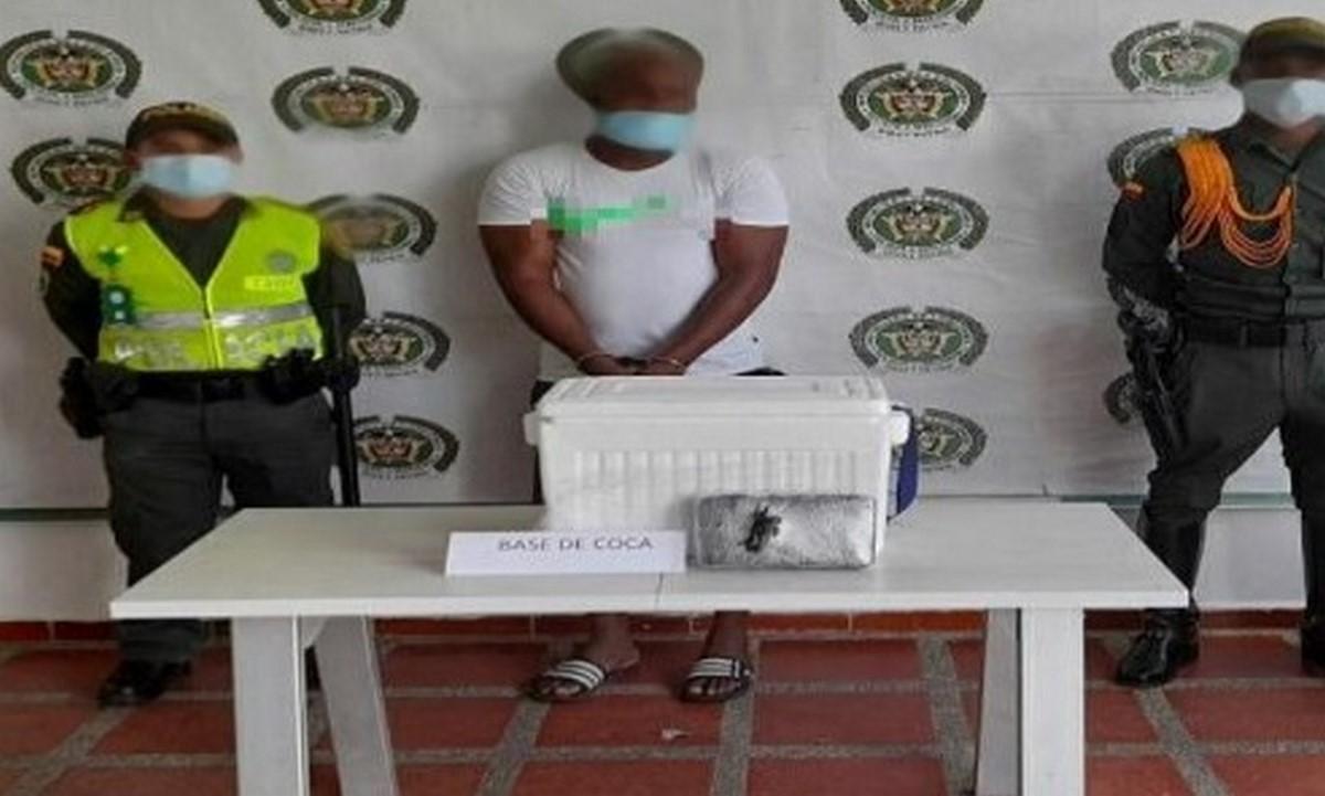 Capturado por llevar cocaína en una nevera en Quibdó