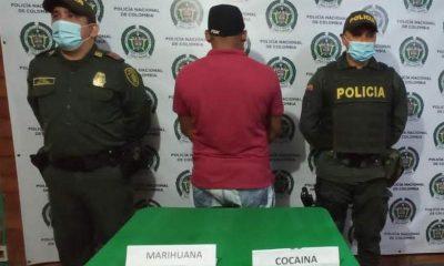 Lo 'agarraron' con marihuana y cocaína en Salgar