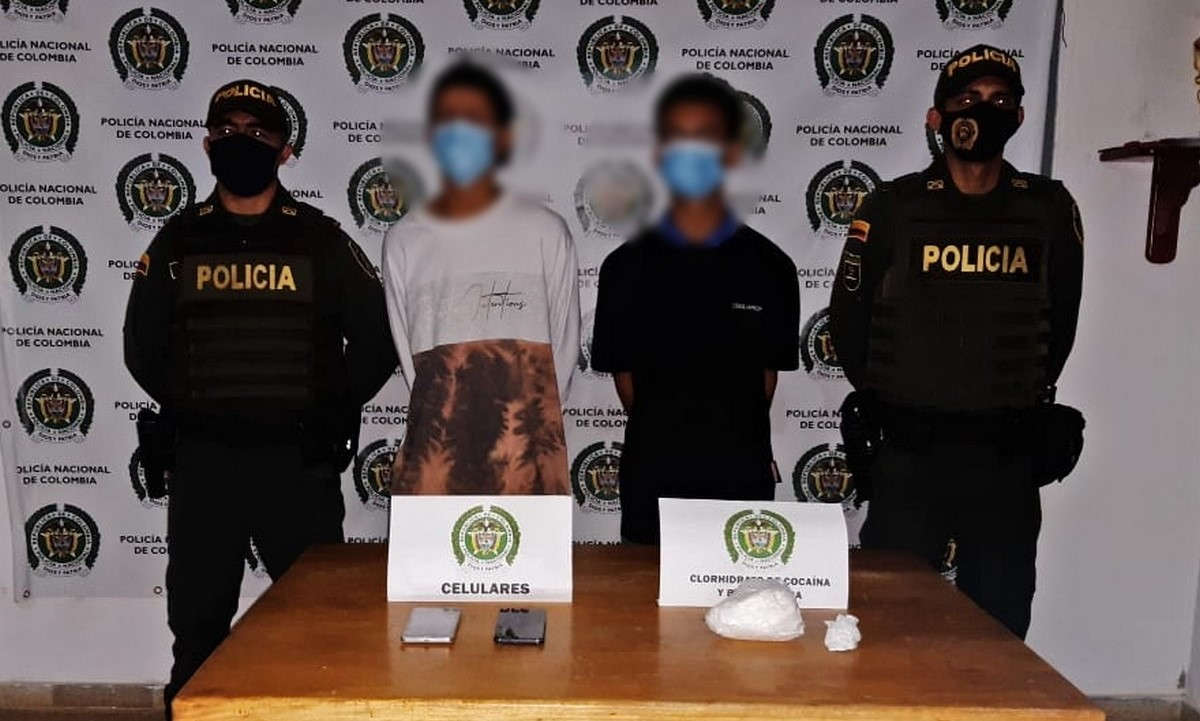 Capturados en San Roque con varias dosis de cocaína