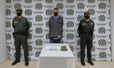 Capturado en Vegachí por llevar una bolsa con marihuana
