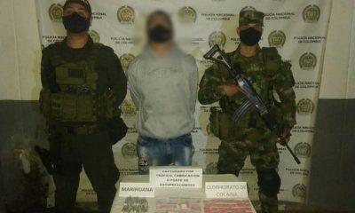 Capturaron a presunto expendedor de droga en Yarumal
