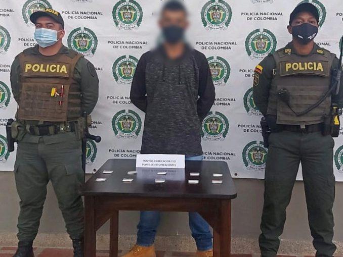 rado en Santa Rosa de Osos con clorhidrato de cocaína