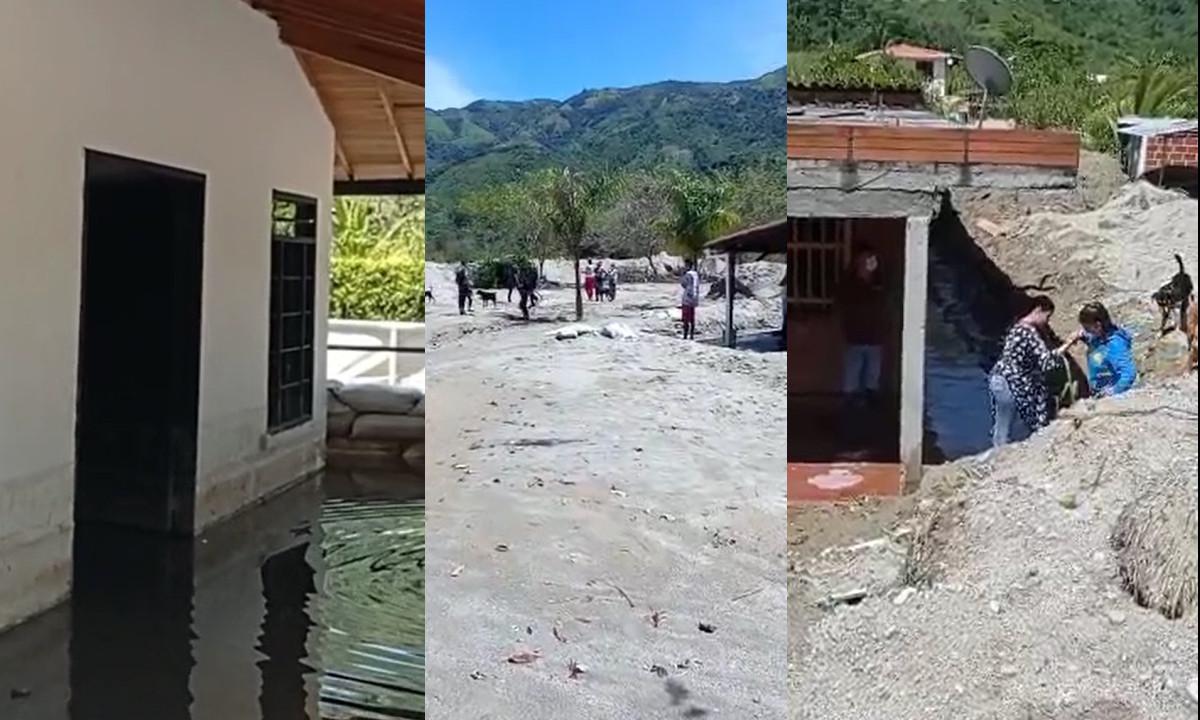 Ciudadanos denuncian que luego de un mes de una avalancha sus casas continúan inhabitables
