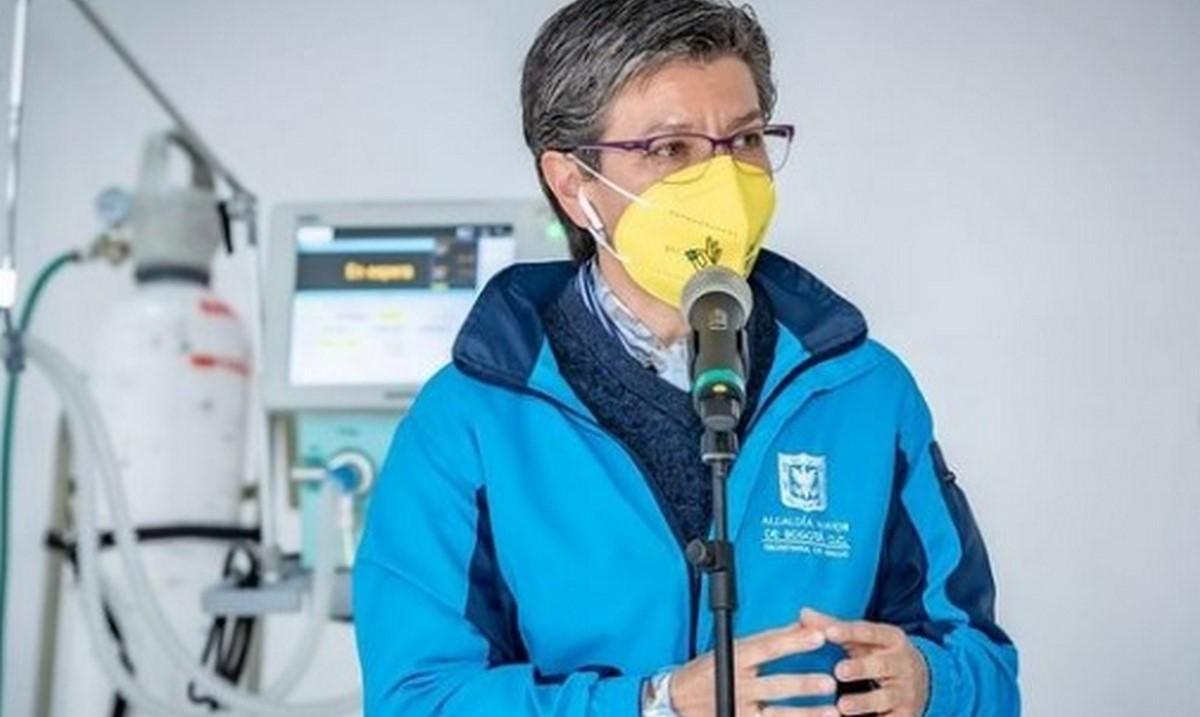 Bogotá salió de alerta roja: Claudia López
