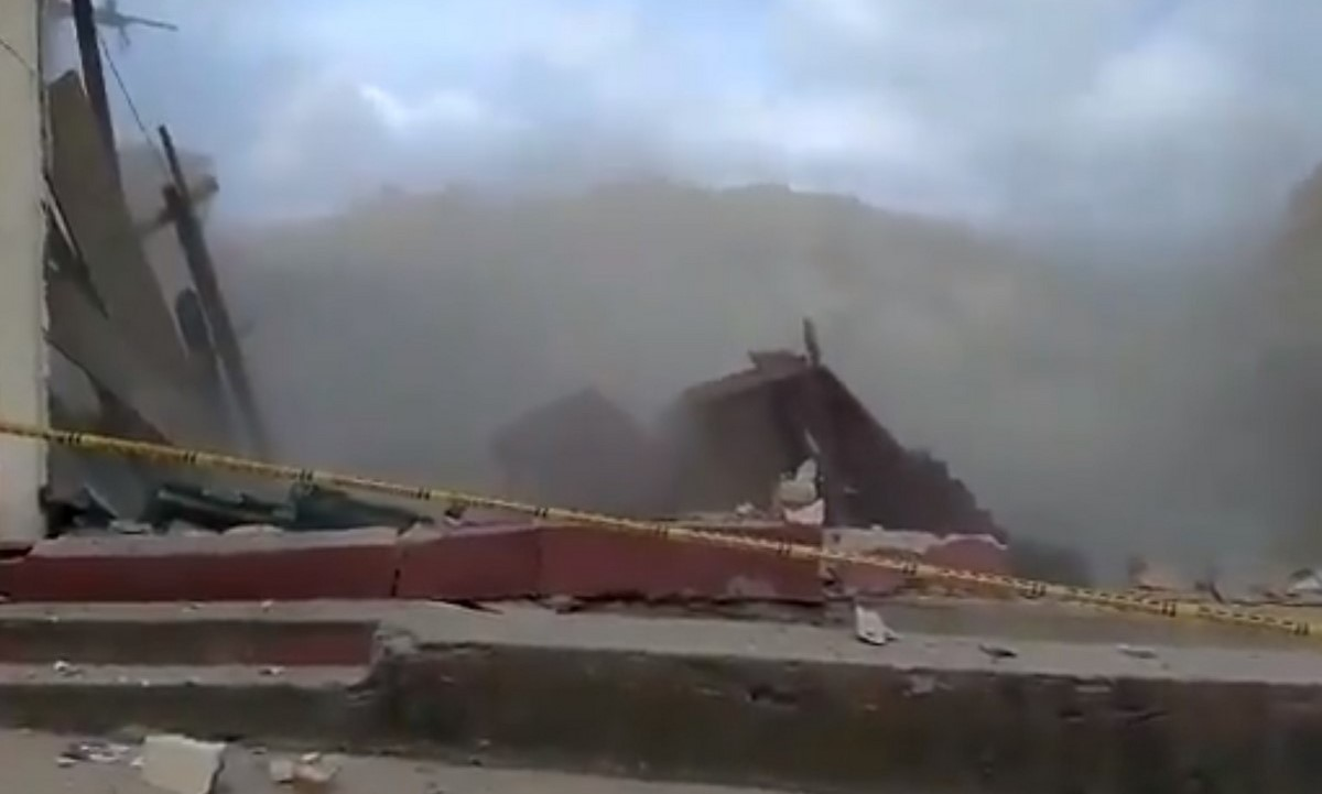 15 casas colapsaron el Convención, Norte de Santander