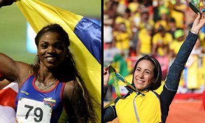 ¡Qué orgullo! Mariana Pajón y Caterine Ibargüen son portada en los Juegos Olímpicos
