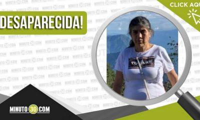 Luz Marina Arboleda esta desaparecida desde esta mañana