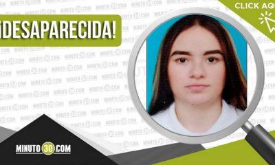 Jhoana Gómez Arango desaparecida