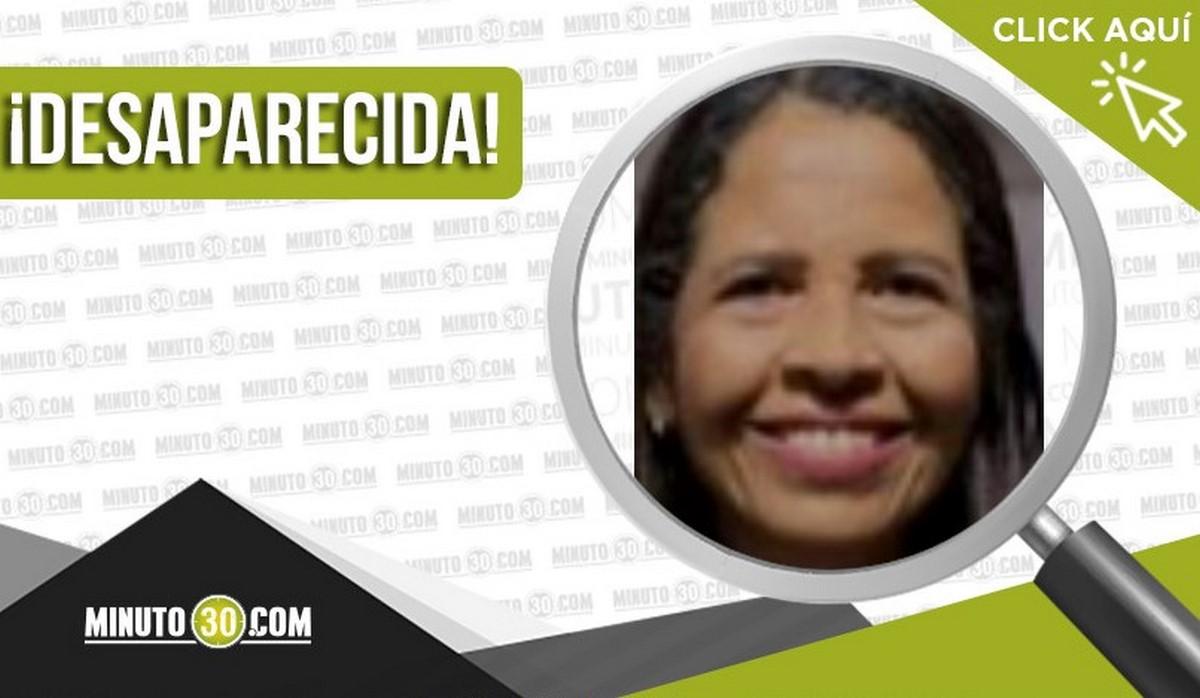 Nidia de las Mercedes Zapata Orrego está desaparecida