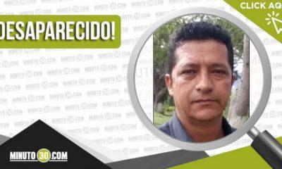 Alirio Jiménez Salazar desaparecido