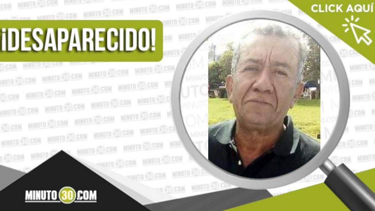 Luis Rojas desaparecido