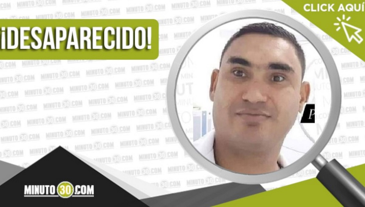 Alejandro Sierra Acosta está desaparecido
