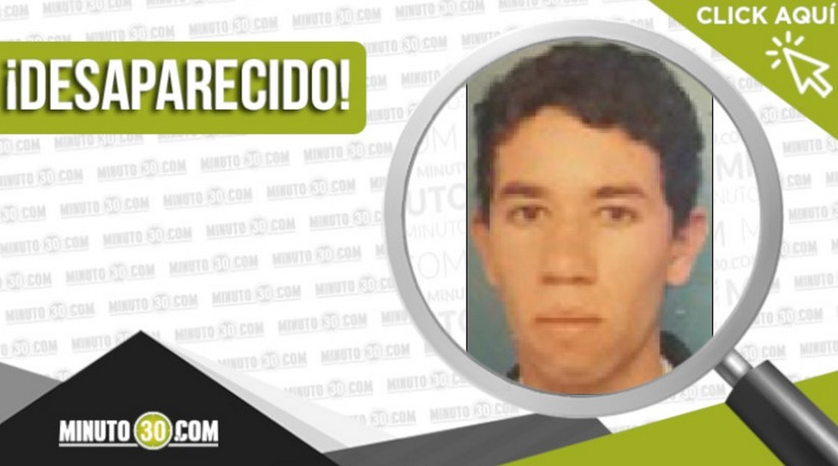 Luis Alberto Bohórquez Ramírez desaparecido