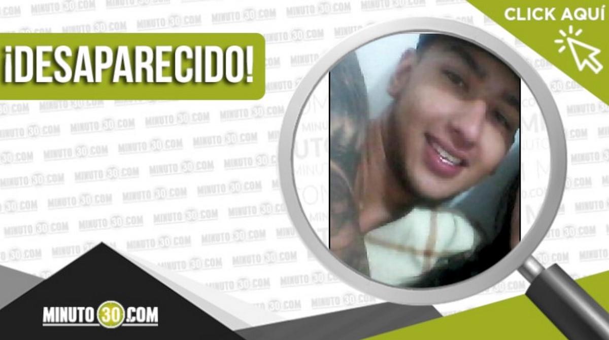 Brahyam Alexis Urrego Zuluaga desaparecido