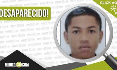 Edison Estiven Córdoba Mosquera está desaparecido
