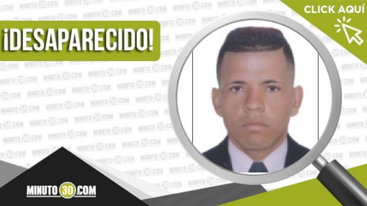 Juan Gabriel García Reyes desaparecido