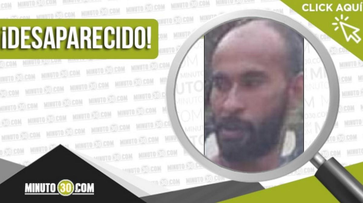 Víctor Augusto Arango Gómez desapareció en Robledo La Huerta