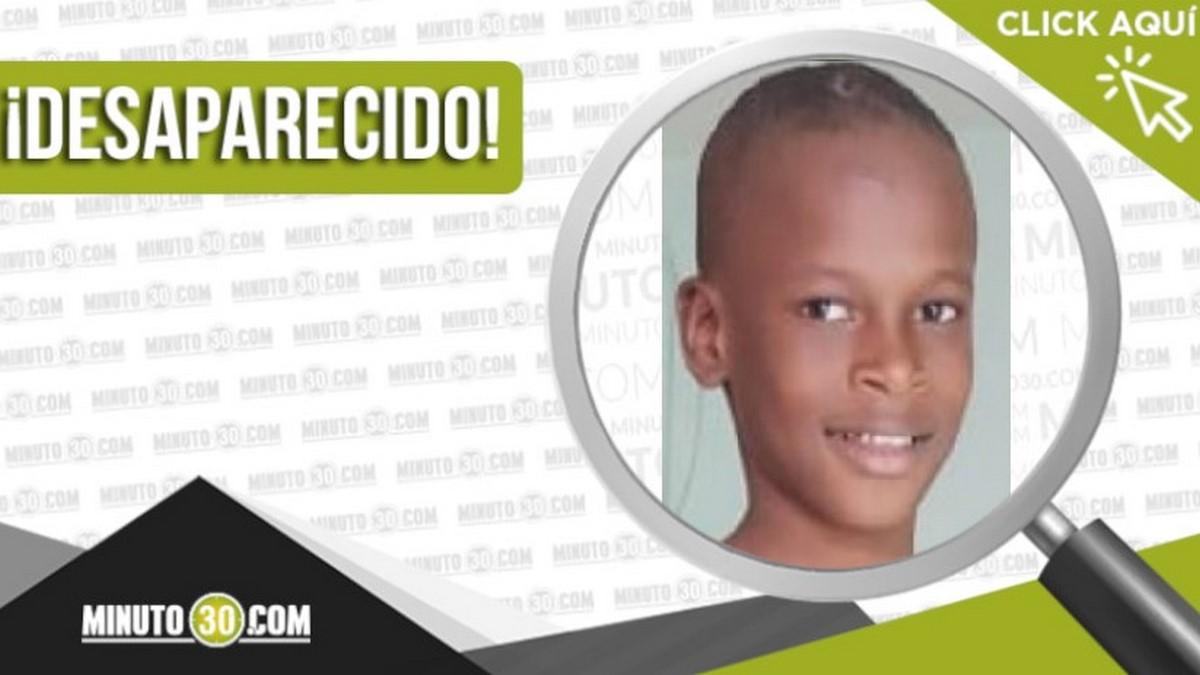 Jowell Stiven Perea Mosquera desaparecido