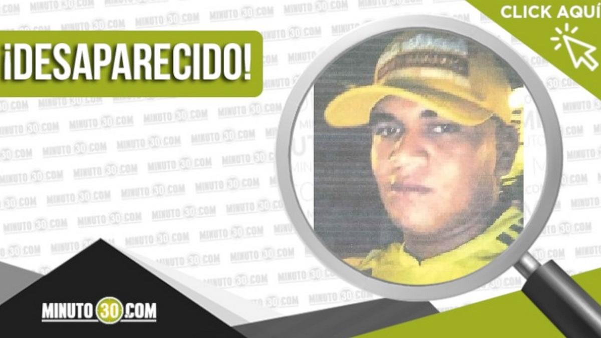 Edilson José Sierra Ibáñez desaparecido