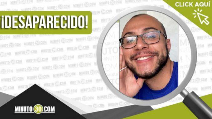 Gino Alejandro Vélez García desaparecido