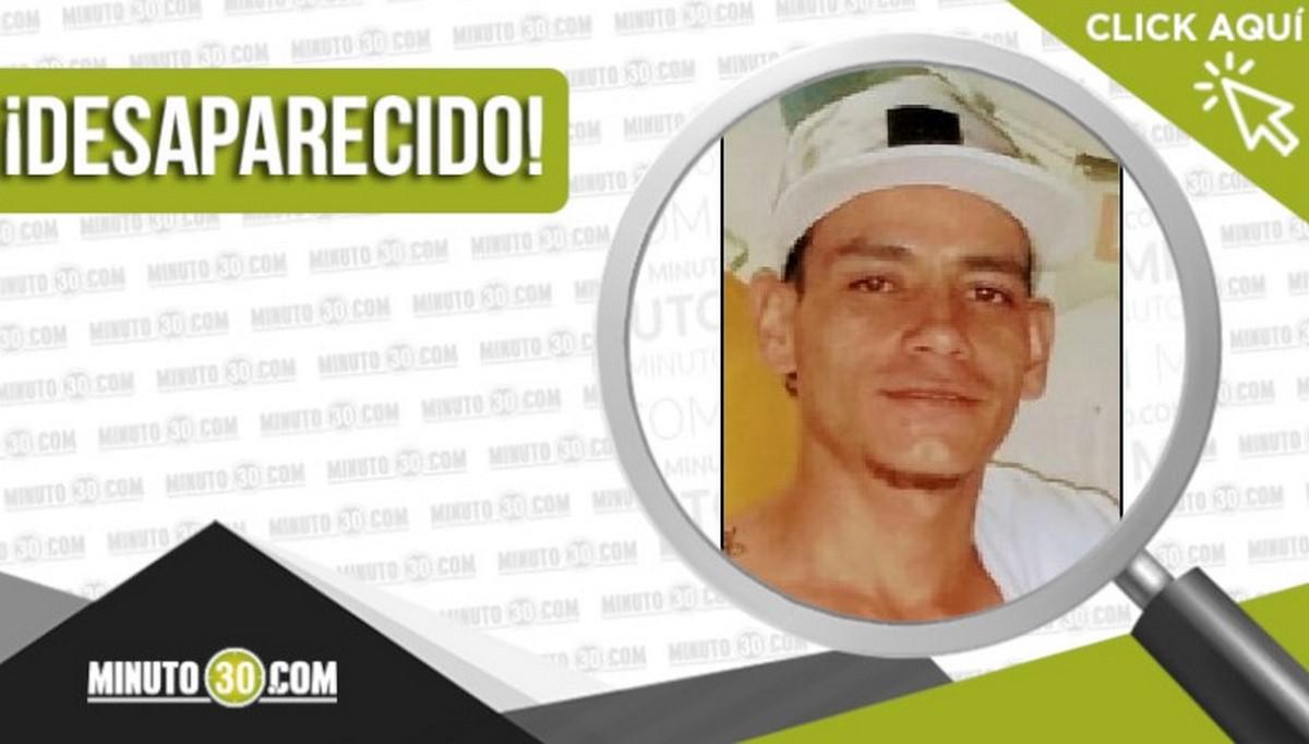 Jhon Jairo Luján Vargas desaparecido