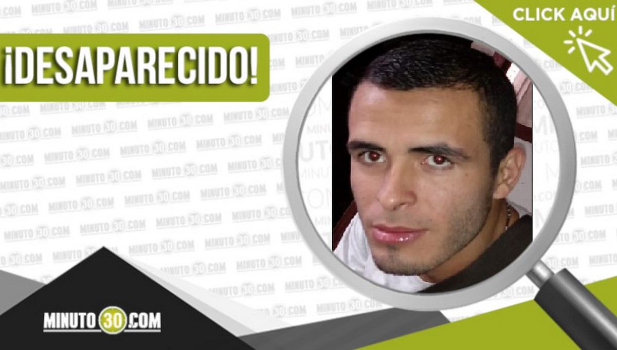 Andrés Julián Gaviria Quintero desaparecido