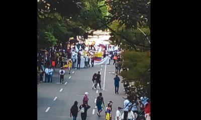 ¡Pilas! Hay 'taco' en la calle 57 Barranquilla por movilización ciudadana