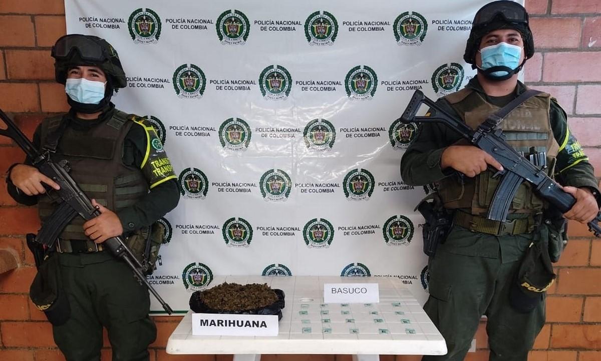 Incautaron un bolso 'lleno' de droga por Dabeiba