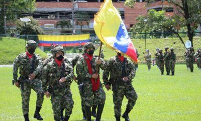 [En Fotos] Así conmemoró el Ejército en Medellín los 211 años de independencia