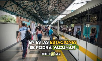 Van a empezar a vacunar en tres estaciones del Metro