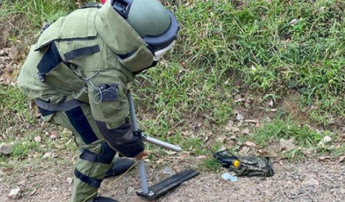Detonaron un artefacto explosivo de manera controlada