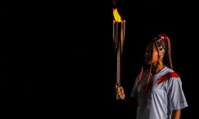 osaka, fuego olimpico pebetero