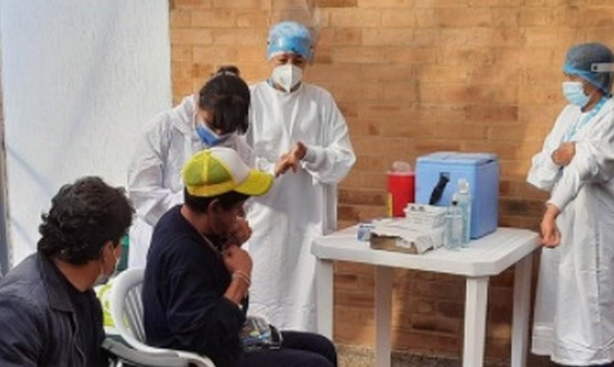 habitantes de calle vacunados covid