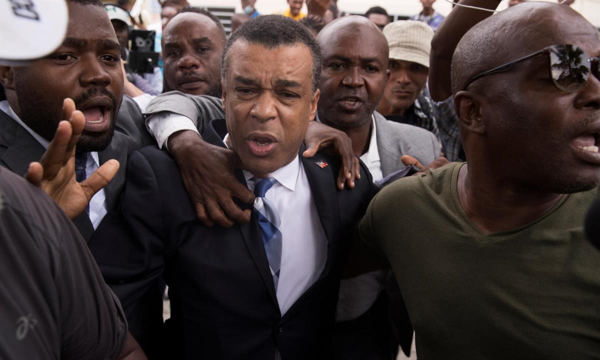 haiti opositor