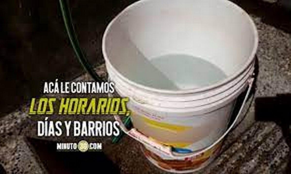 ¡Pilas! Esta semana no habrá agua en algunos sectores de Copacabana y el nororiente de Medellín
