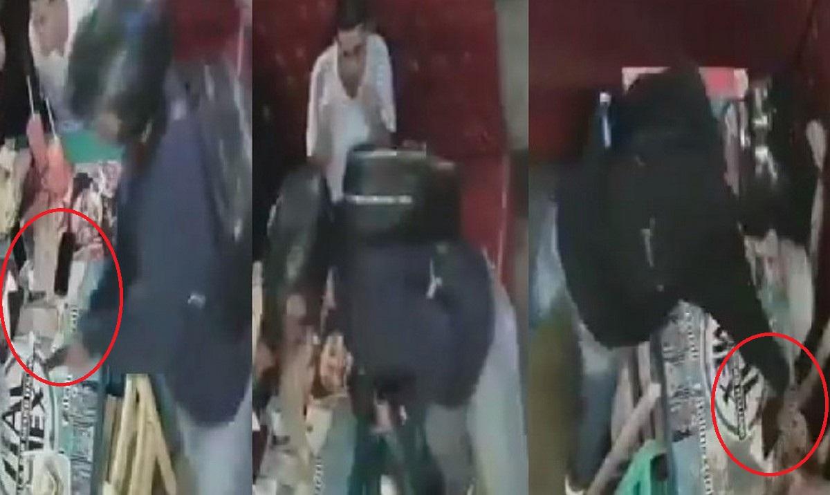 Hombres armados se robaron celulares de local en Cabañas