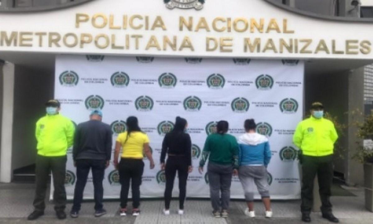 Cayeron 'Las Katiras', señalados de cosquilleo en Manizales