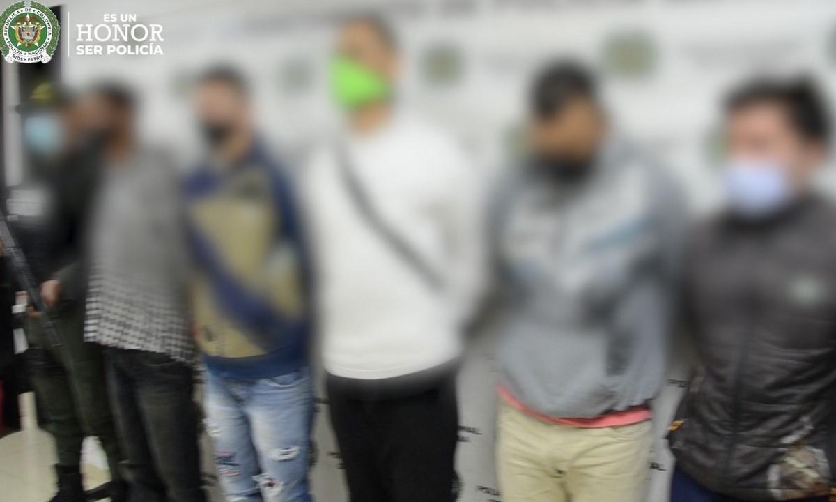 Capturados siete presuntos integrantes de 'Los Peludos'