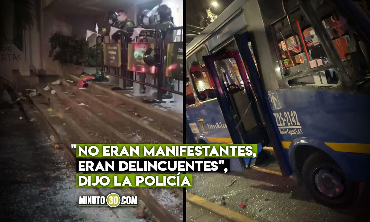 """Califican de """"violencia extrema"""" actos vandálicos de ayer"""