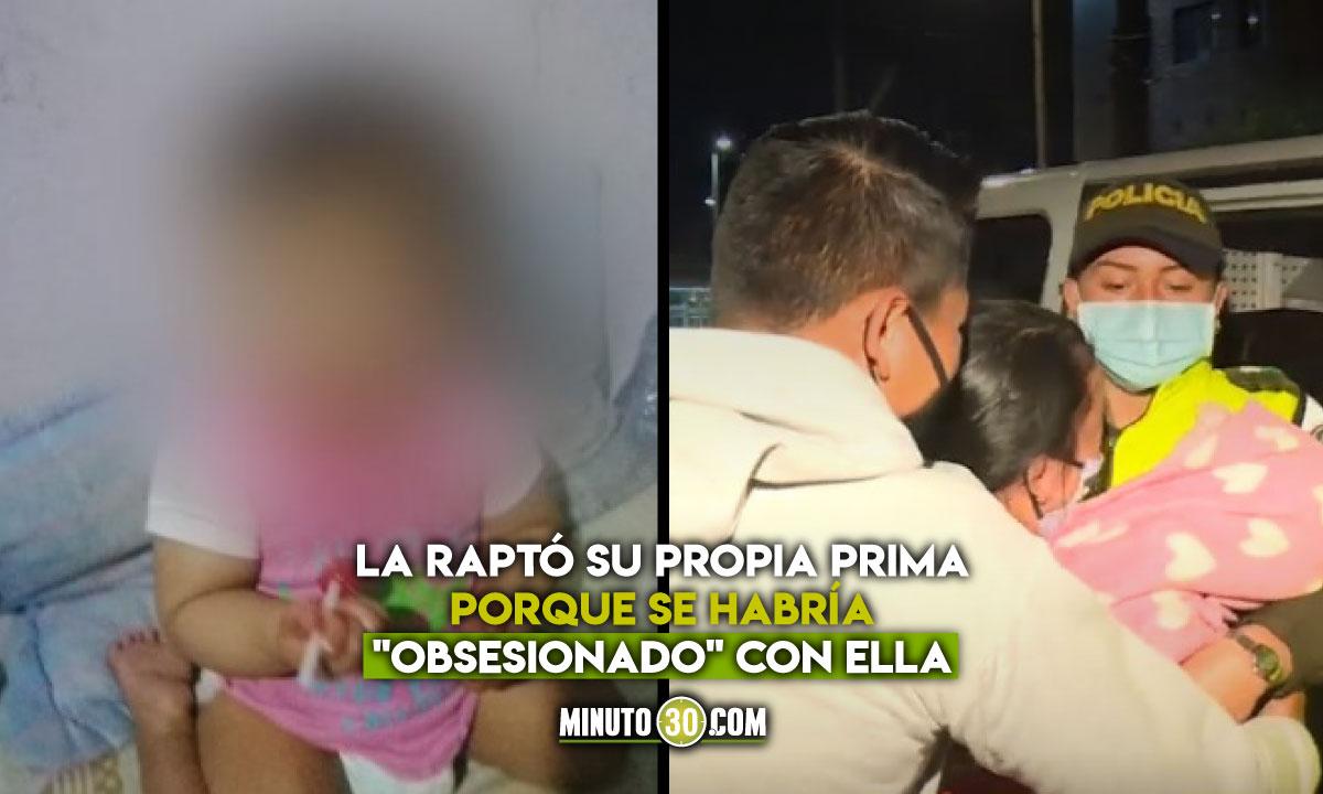 Joven raptó a una bebé y le dijo a todos que era su hija