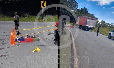 ¡Tragedia! Joven murió mientras practicaba 'Gravity Bike' en la vía Medellín – Sonsón