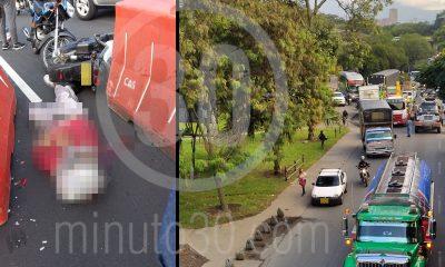 ¡Lamentable! Un motociclista murió en la Avenida Regional
