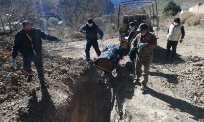 mujer desenterro madre bolivia