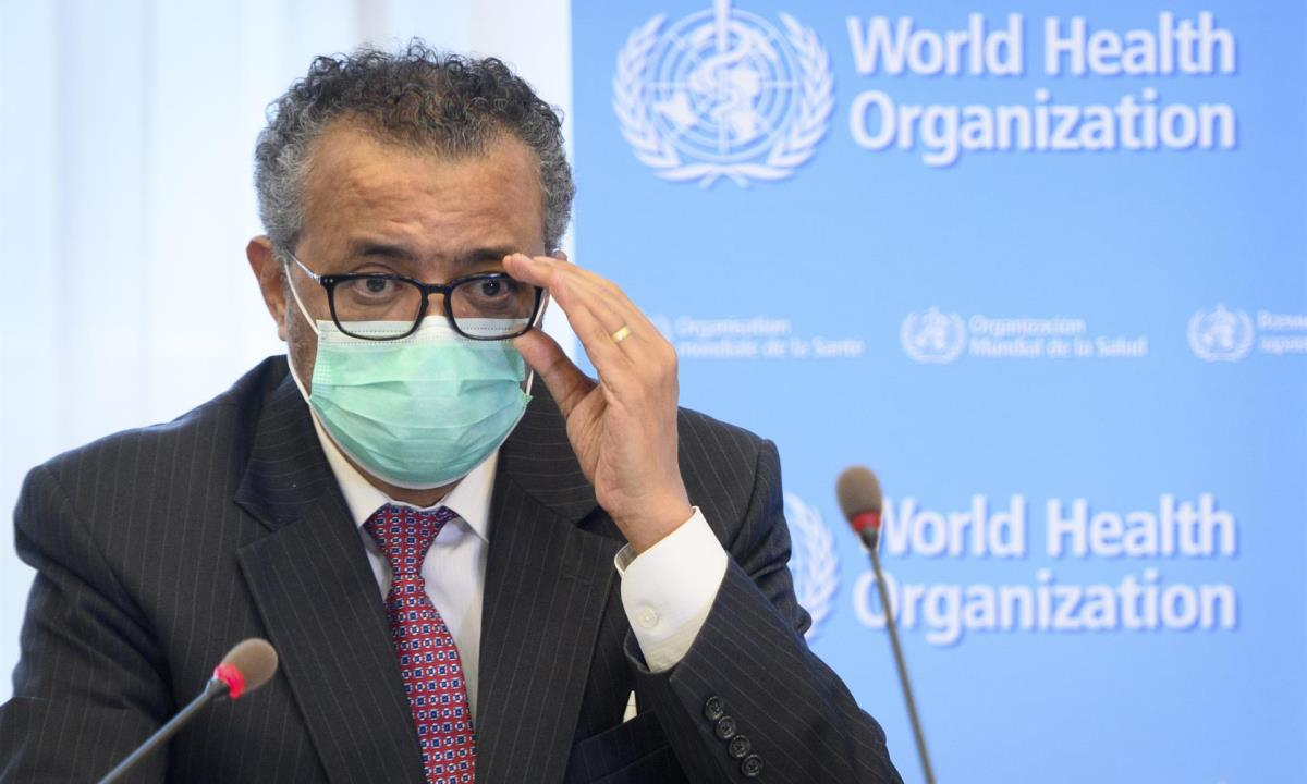 pandemia, oms tedros variante delta