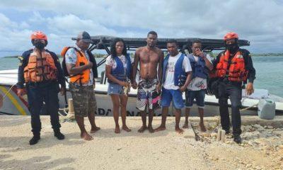 personas rescatadas en covenas