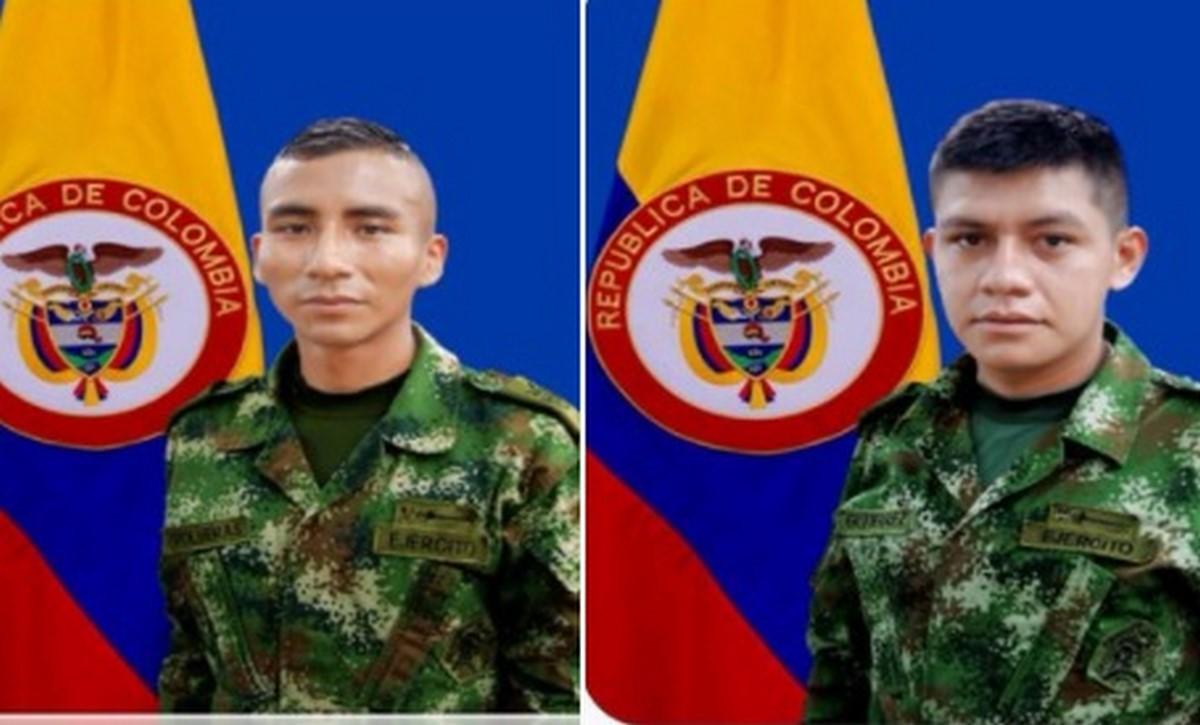 2 soldados muertos y 5 heridos en combates en Nariño
